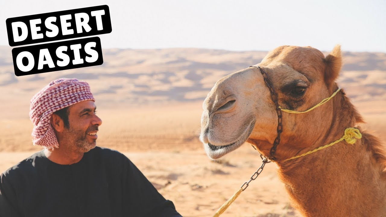 RIDING CAMELS IN THE OMAN DESERT!